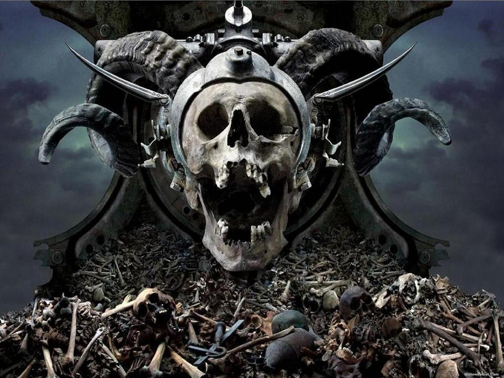 Skull Wallpaper for PC - WallpaperSafari