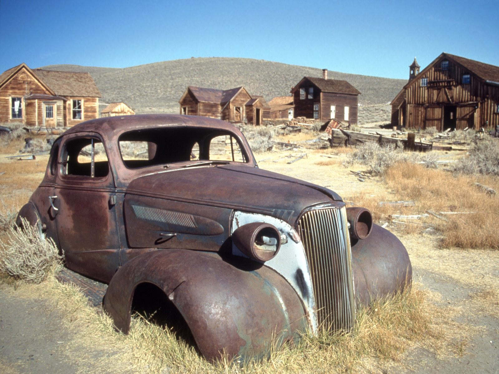 Time Goes By, Bodie Ghost Town, California - 1600x1200 - ID 584023
