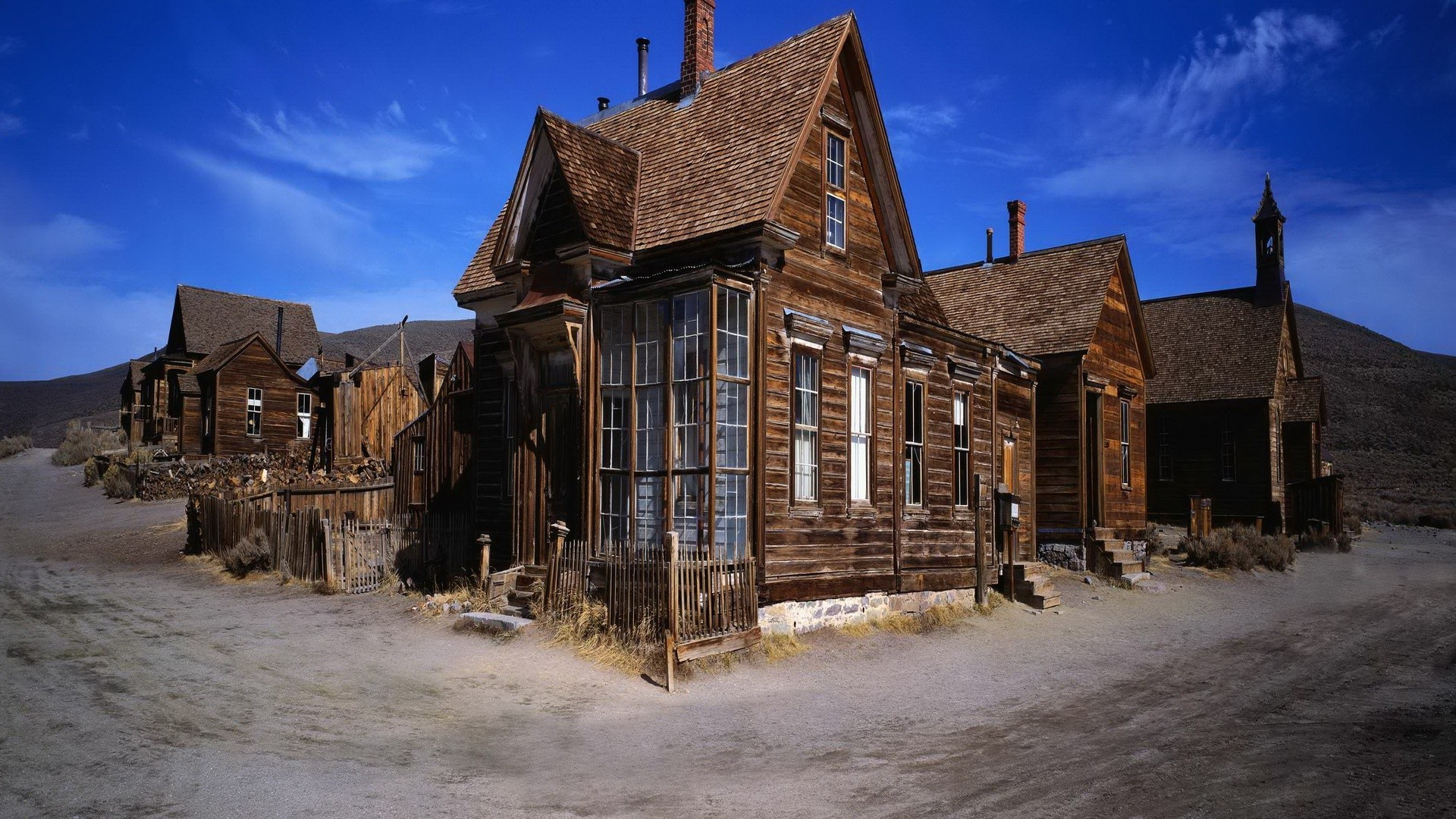 Ghost Town HD Drop-dead Gorgeous Wallpaper Free - Download Ghost