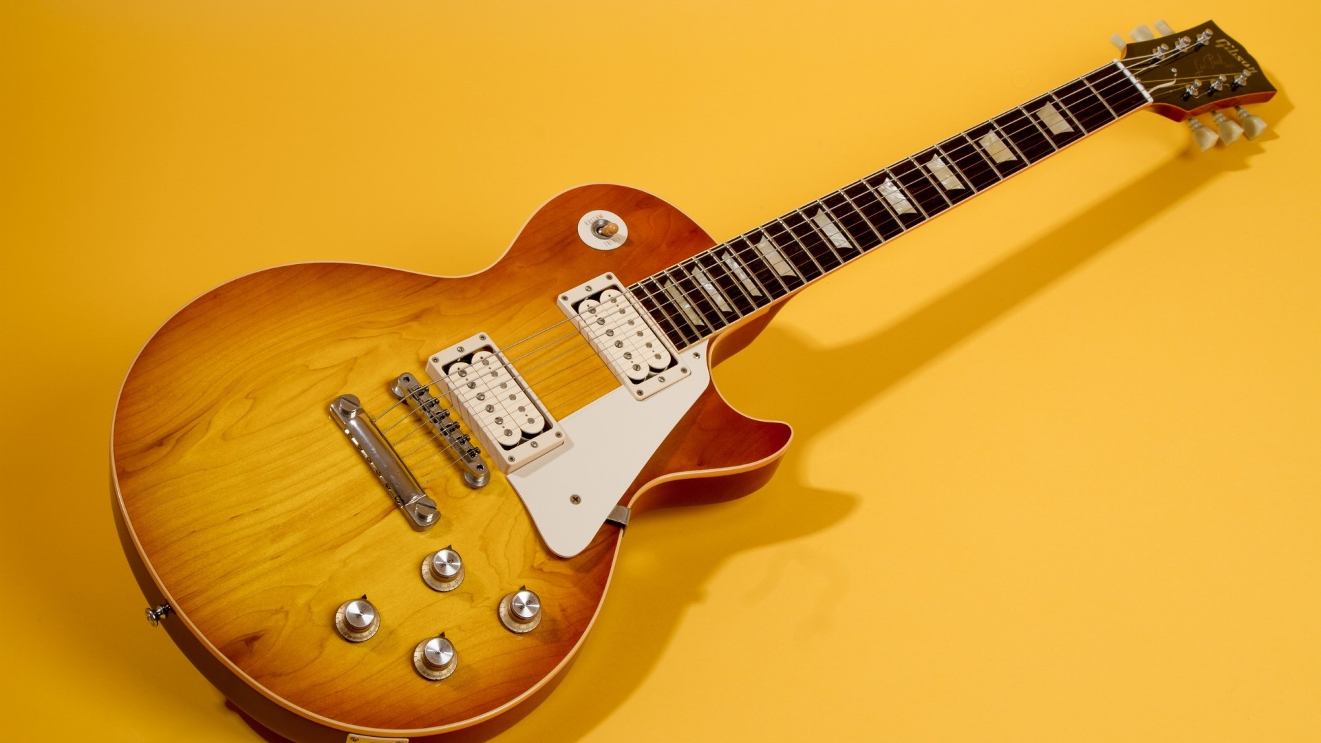Gibson Guitar Wallpaper - WallpaperSafari