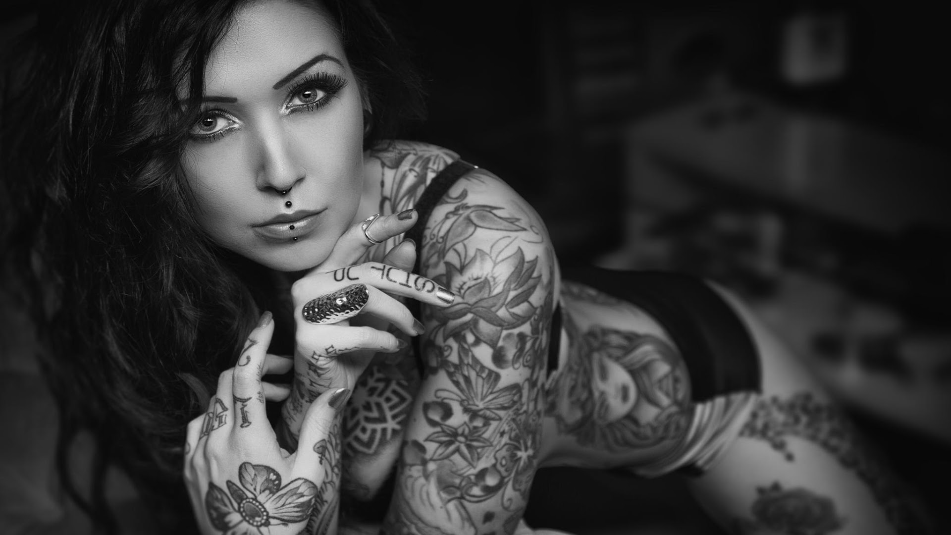 tattooed girls wallpapers - sf wallpaper