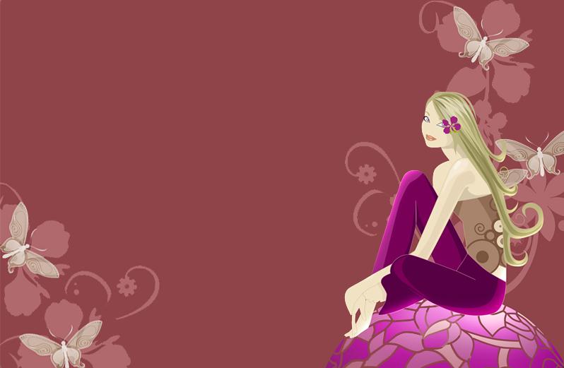 Girly wallpaper for desktop