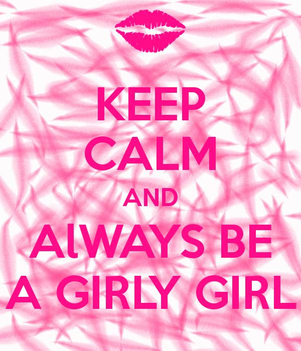 Girly girl background