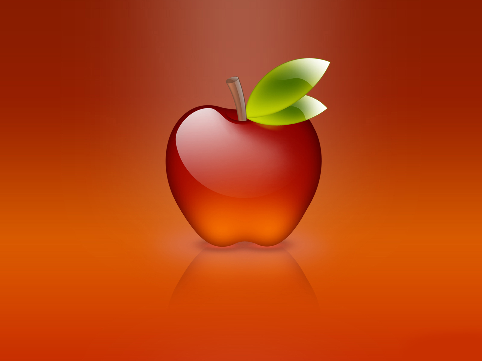 Glass Apple Wallpaper Sf Wallpaper
