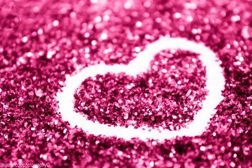 Re: 3000 hearts for Sparklekai! | Pink glitter wallpaper, Girls