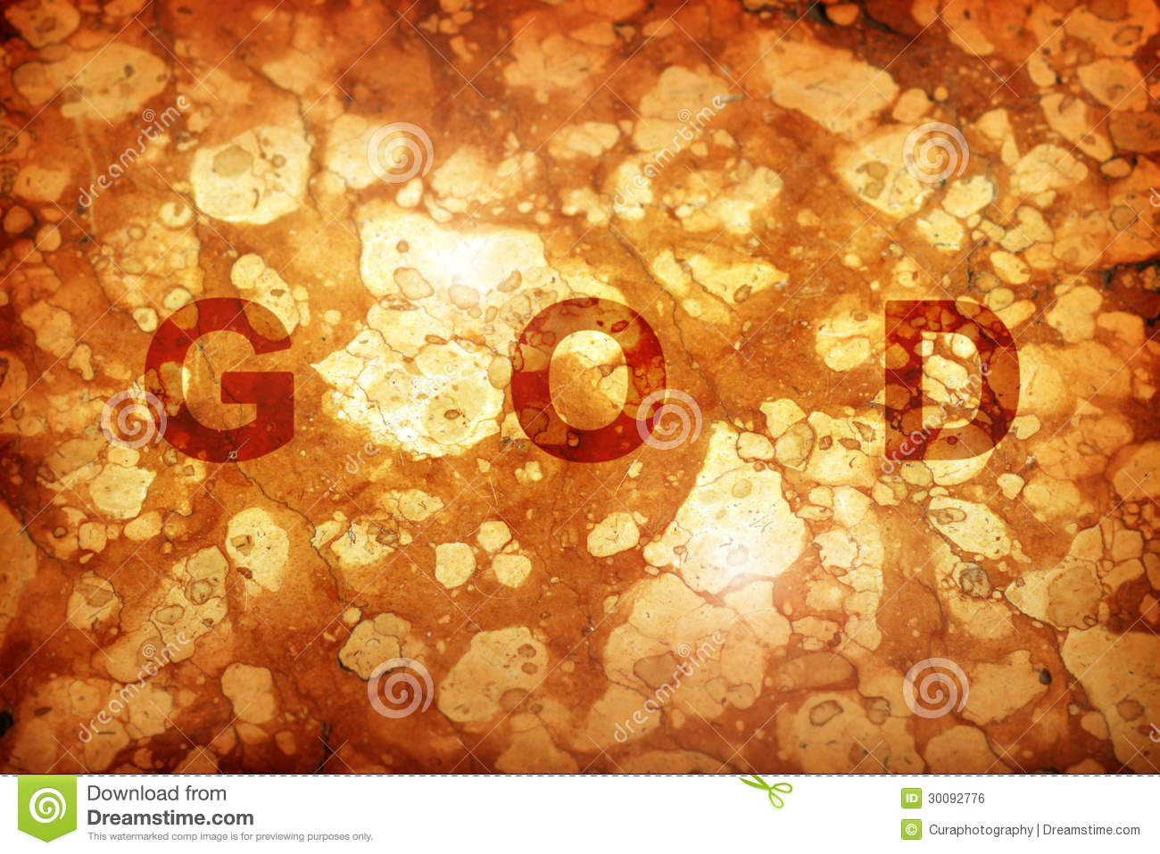 God Background Royalty Free Stock Image - Image: 30092776