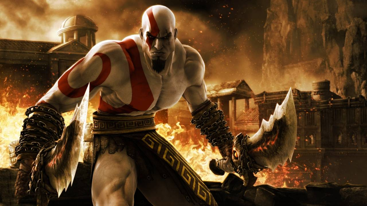 God Of War Kratos Wallpapers