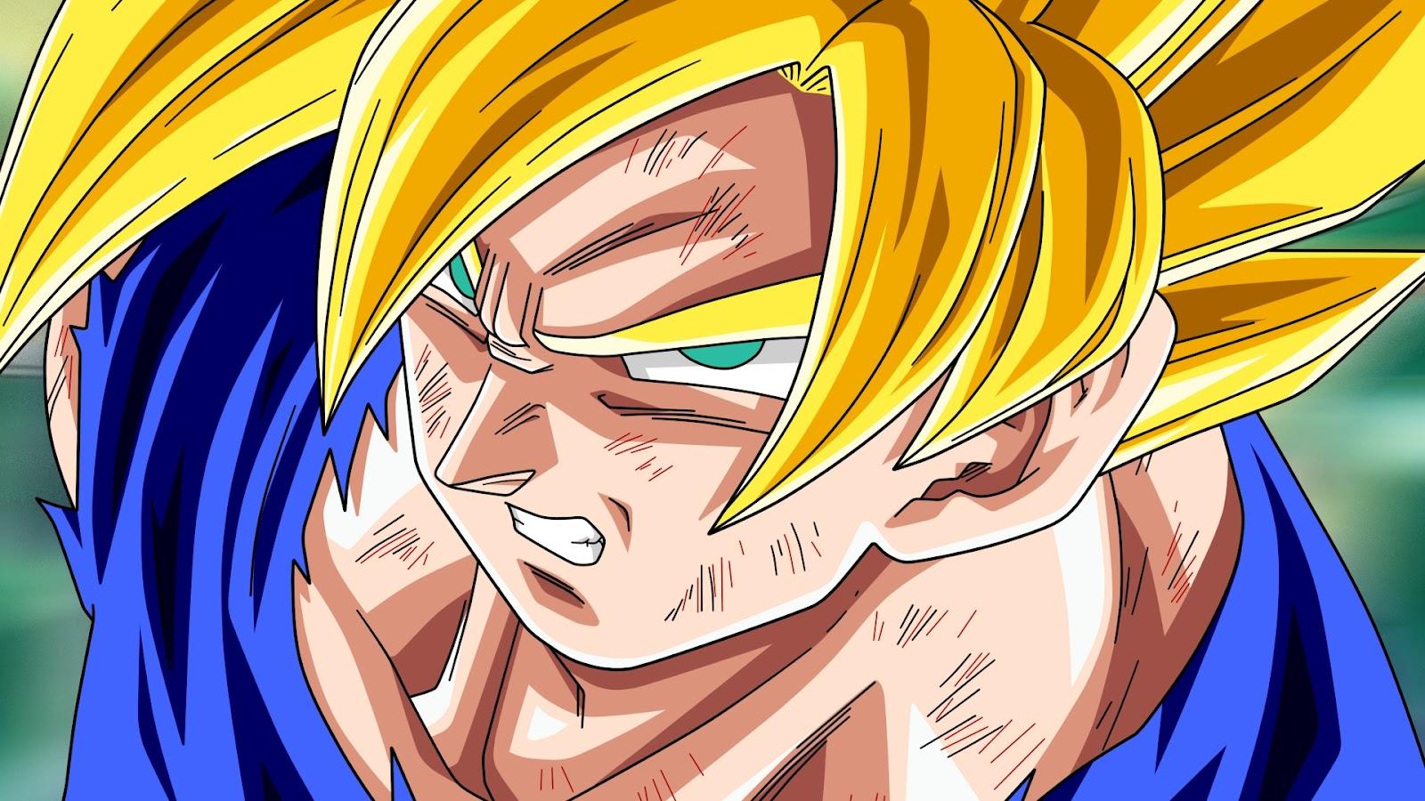 Super Saiyan Goku Wallpapers Group (91+)