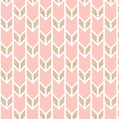 Pink And Gold Fabric Wallpaper Gift Wrap