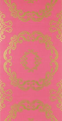 Pink and Gold Wall Piece | Apartment Stuff! :D | Pinterest