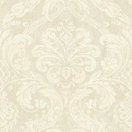 Gold Damask Wallpaper | Homebase co uk