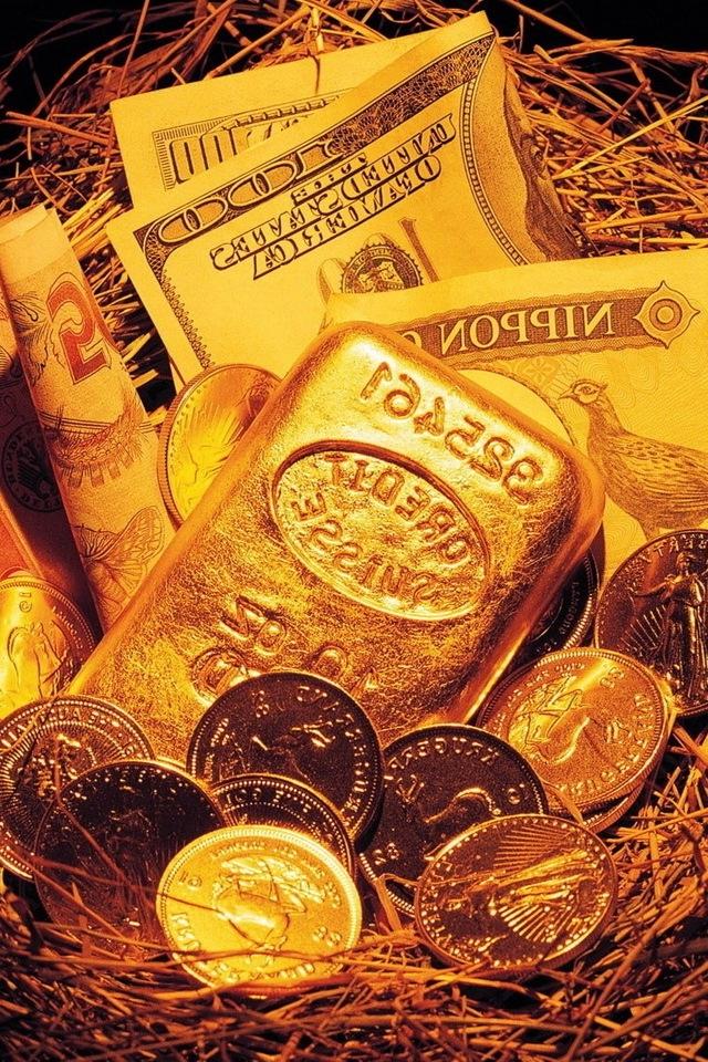 Gold Money Wallpaper