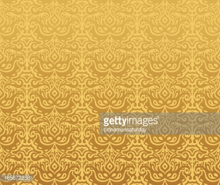 Gold Pattern Wallpaper Background Vector Art | Getty Images