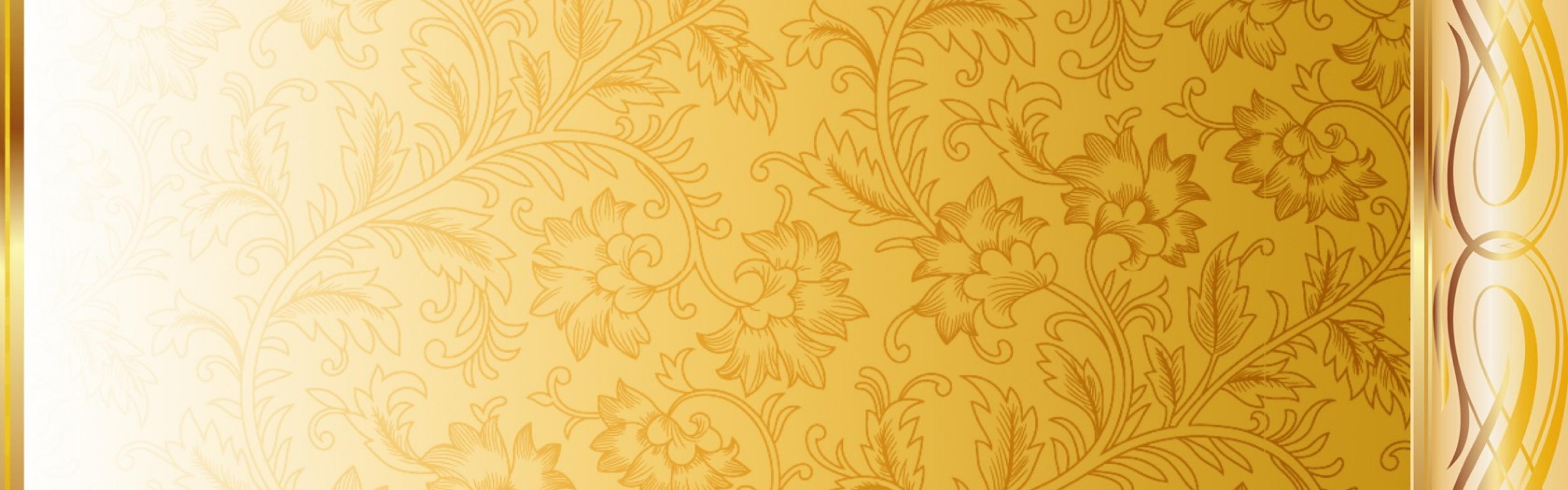 Gold Pattern Wallpapers - WallpaperPulse