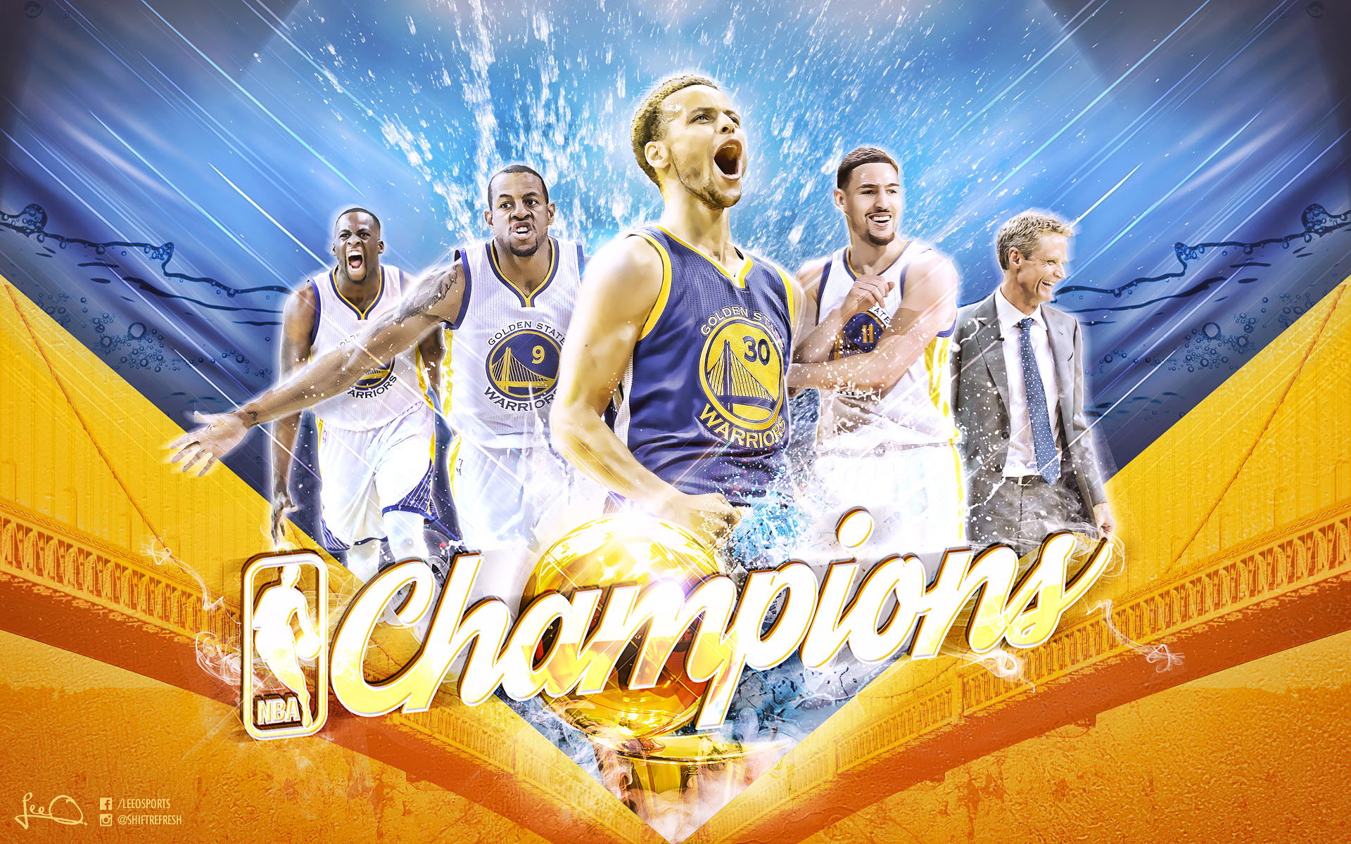Golden State Warriors Wallpapers | Basketball Wallpapers at