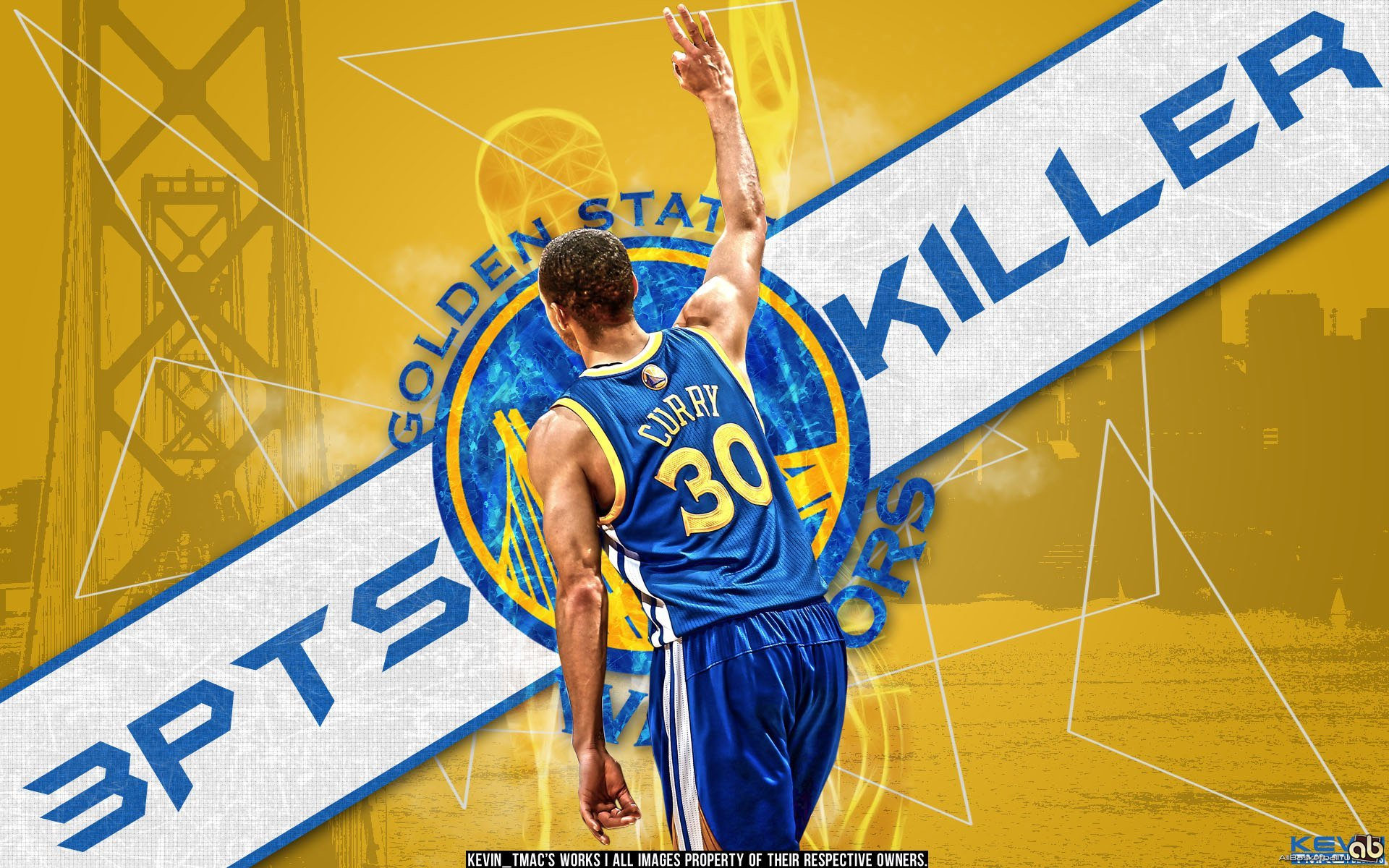 Stephen Curry Golden State Warriors Wallpapers High Resolution