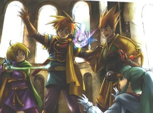 Golden Sun Wallpaper