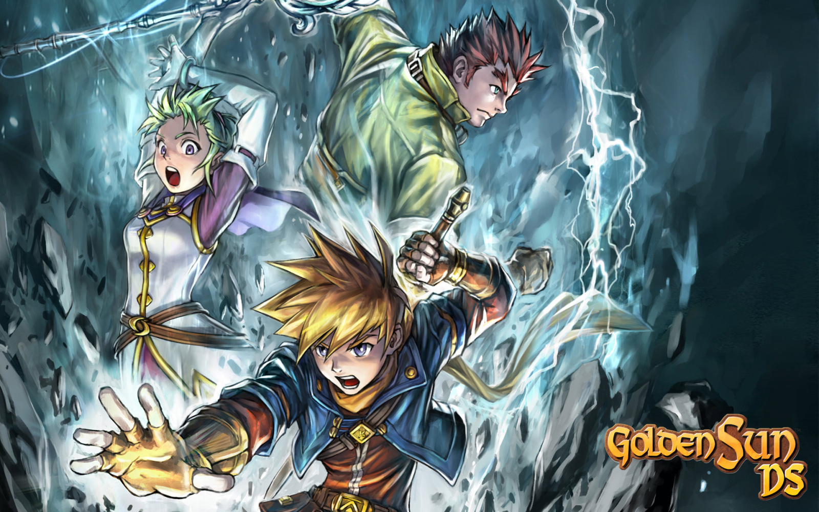 Golden Sun - Wallpapers and Gameplay Screenshots