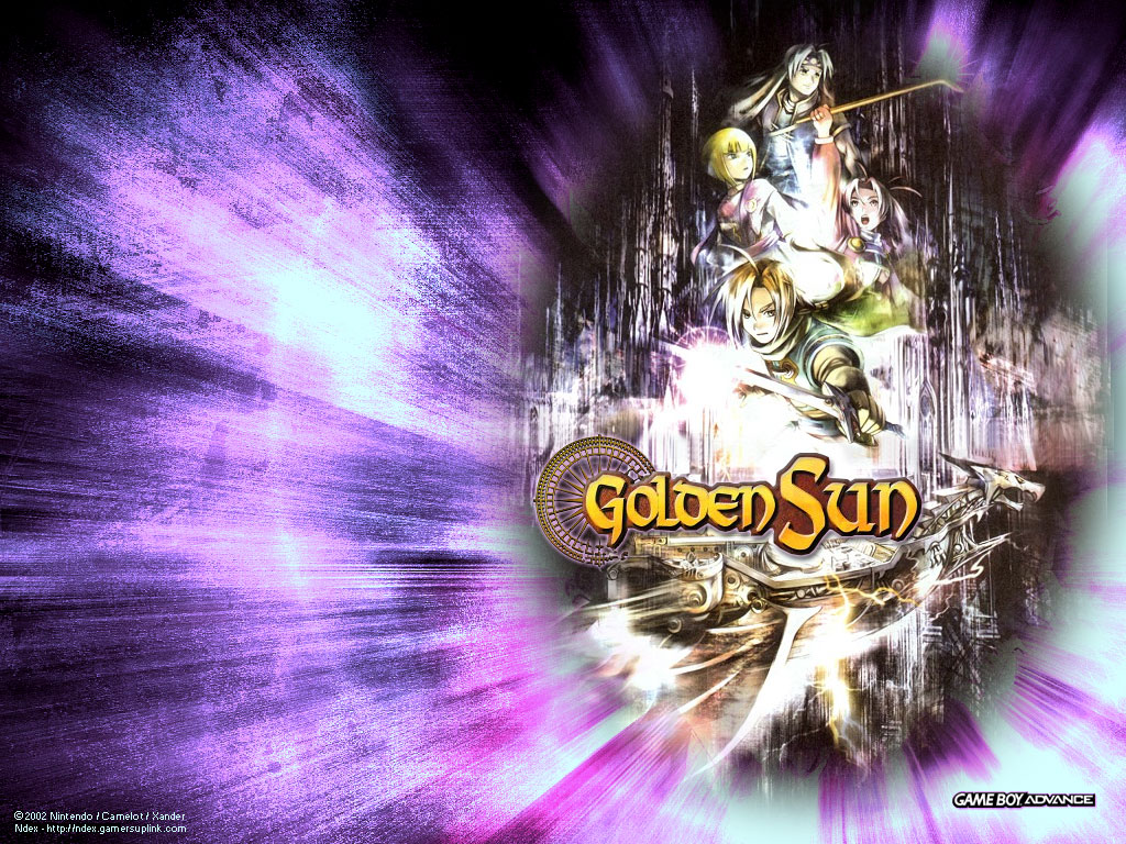 Golden Sun Computer Wallpapers, Desktop Backgrounds | 1024x768