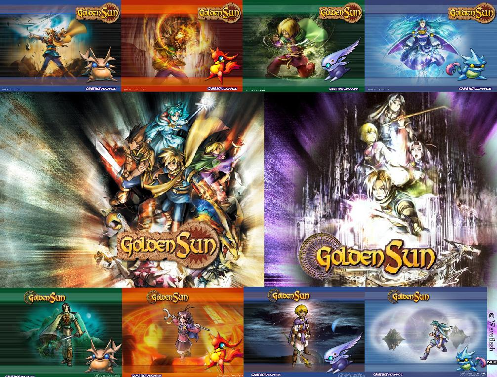 Golden Sun Combination by WaveFlash on DeviantArt