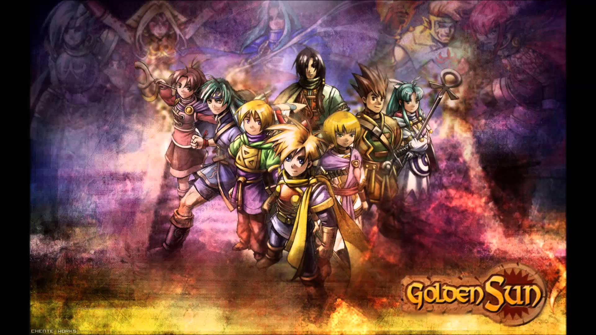 Golden Sun Wallpapers (p 579-TB) - ZHongyaoDQT