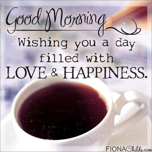 Good Morning Love And Happiness Pictures, Photos, and Images for