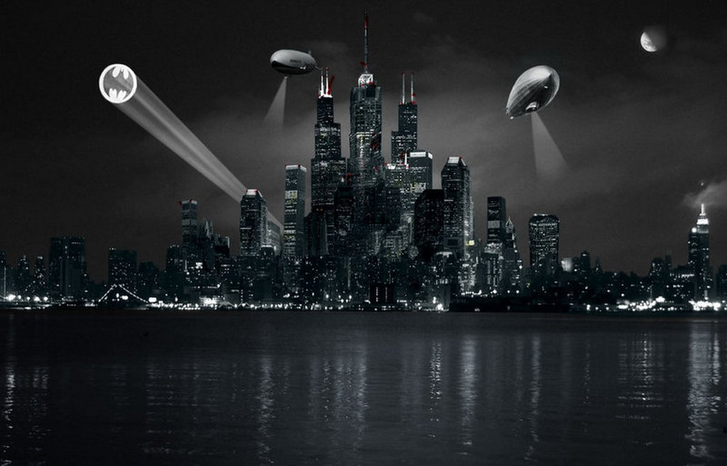 Gotham City Wallpaper Page 1