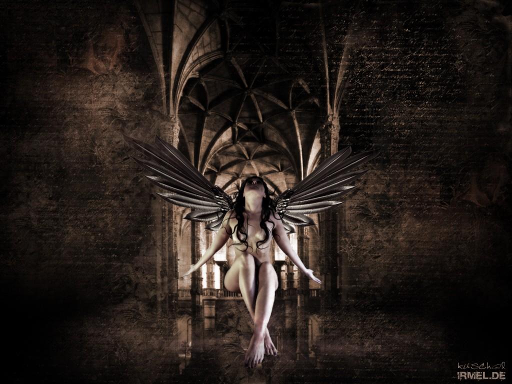 Gothic Art | Nyx Wallpaper by Gothic-Art | gothic | Pinterest