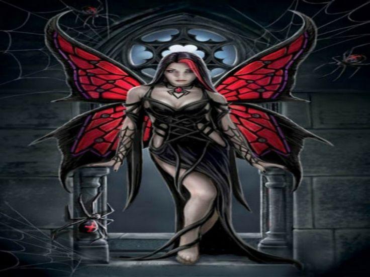 dark fairy vampires   GOTHIC FAIRY Wallpaper - Download The Free