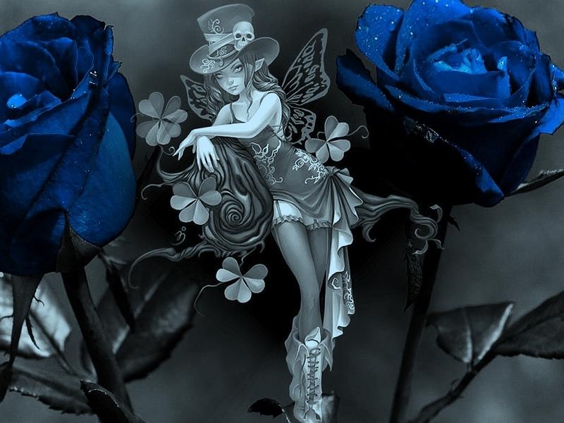 Gothic Fairy Wallpaper - WallpaperSafari