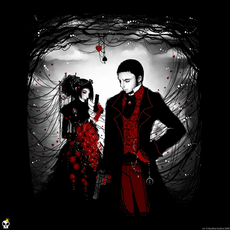 Free Wallpaper Images: Gothic Love Wallpaper