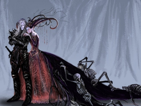Gothic Love Wallpaper Page 1