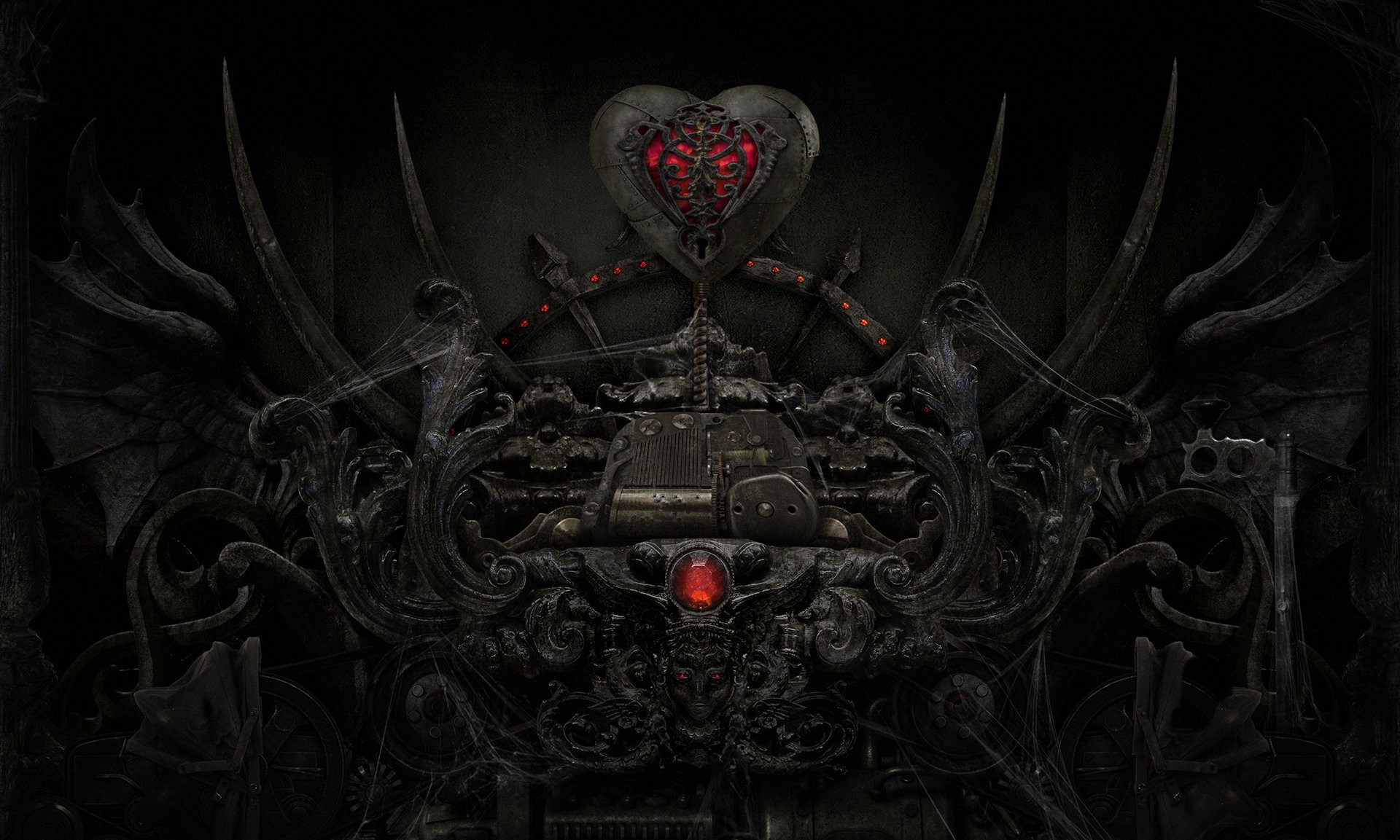 Gothic Love Wallpapers Wide : Other Wallpaper - Timmatic com