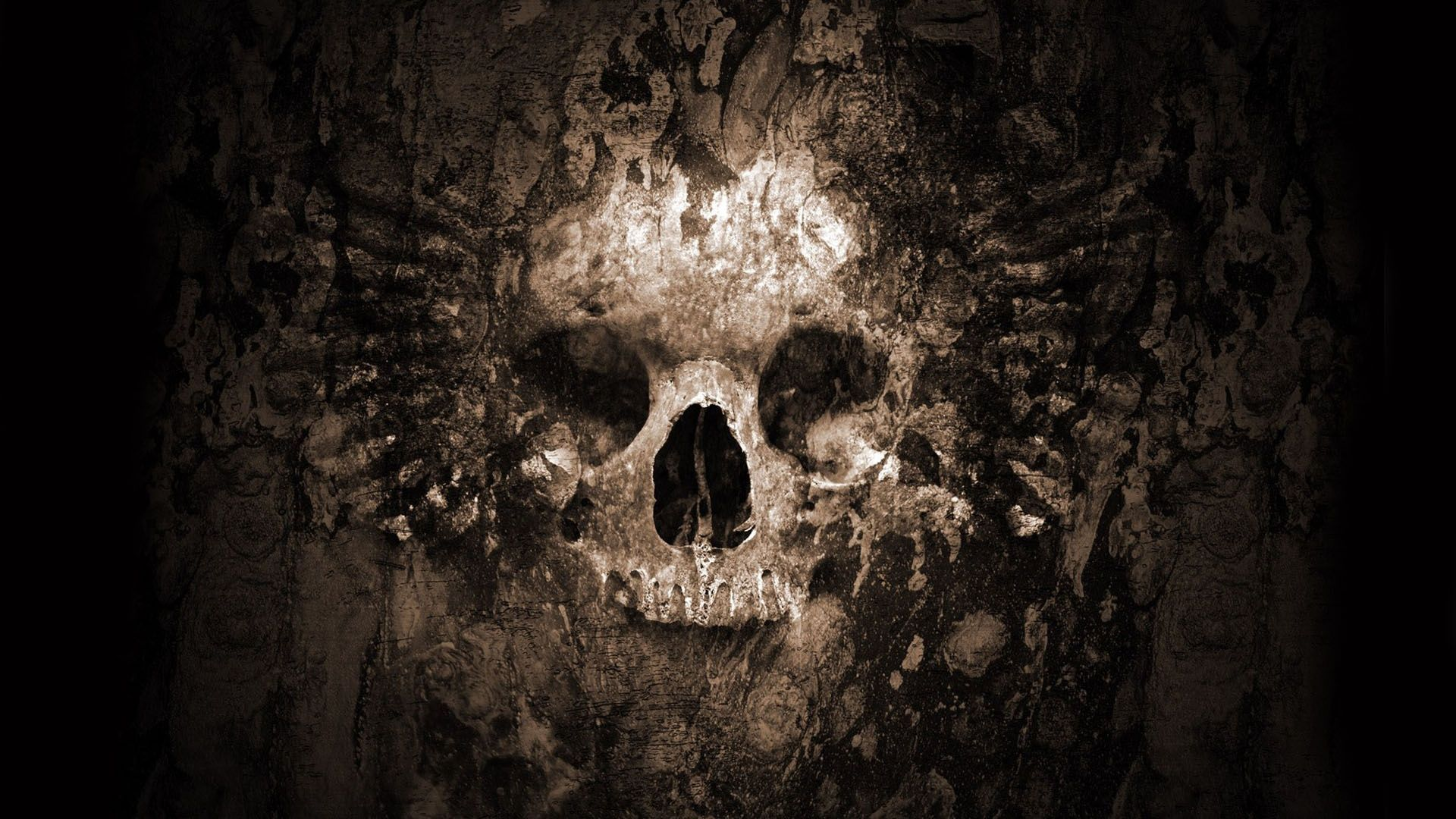Gothic Skull Wallpapers - Wallpaper Cave