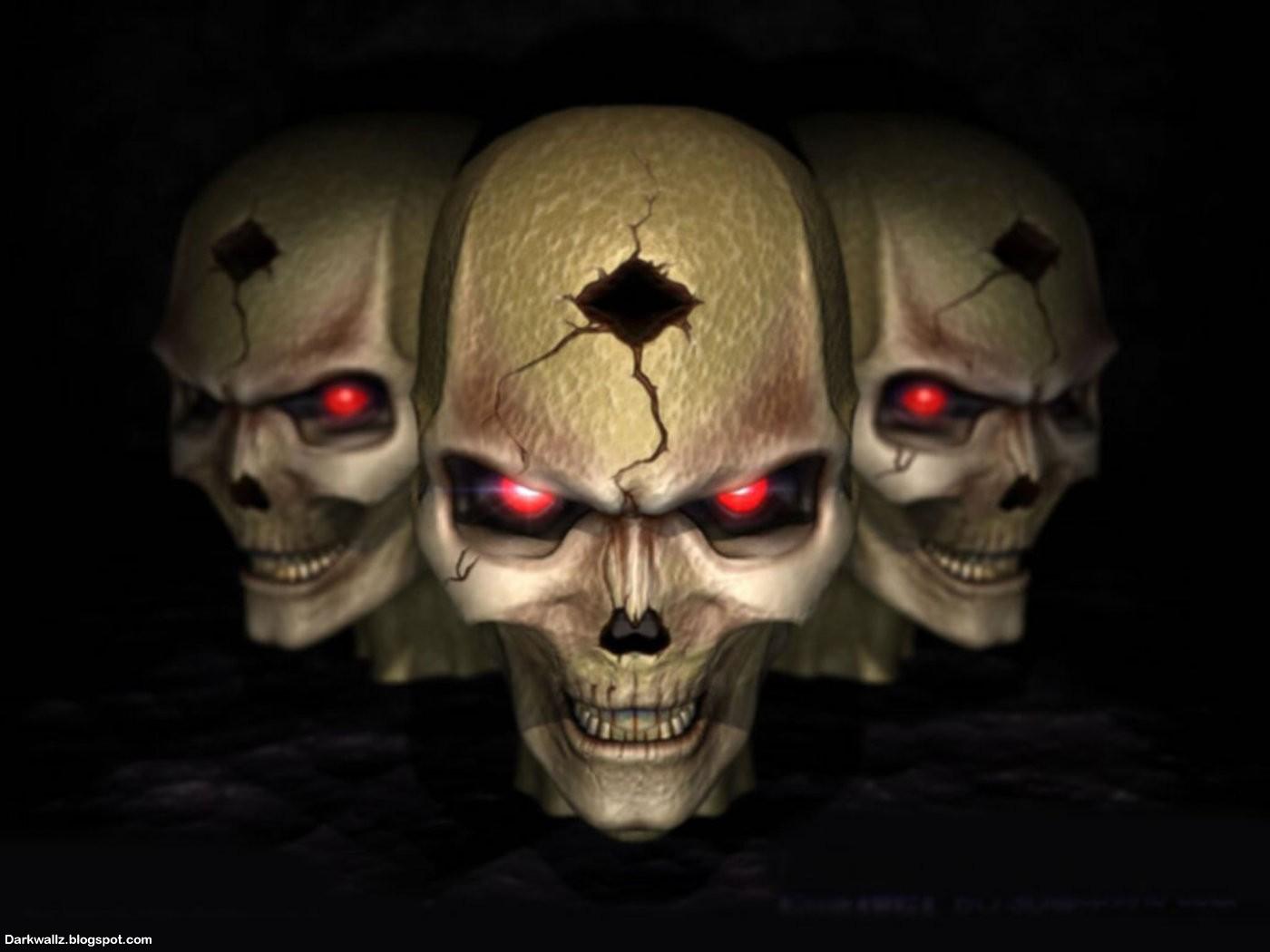 Gothic Skull Wallpaper