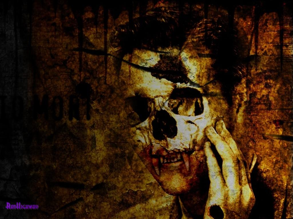 Gothic Skulls Wallpaper - WallpaperSafari