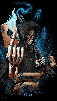 WALLPAPERS gothic skulls death fantasy women erotic animals: SKULL
