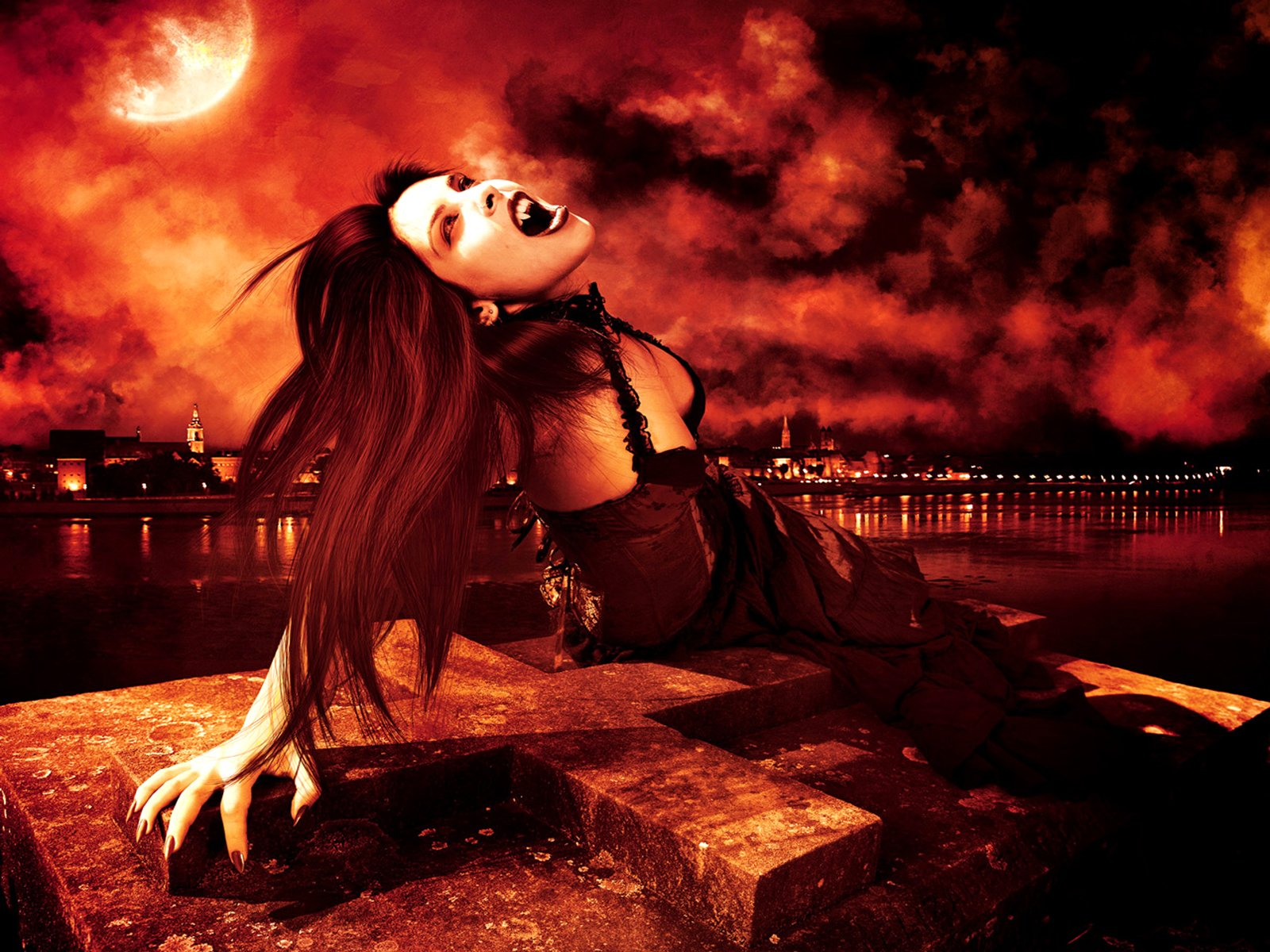 210 Vampire HD Wallpapers | Backgrounds - Wallpaper Abyss