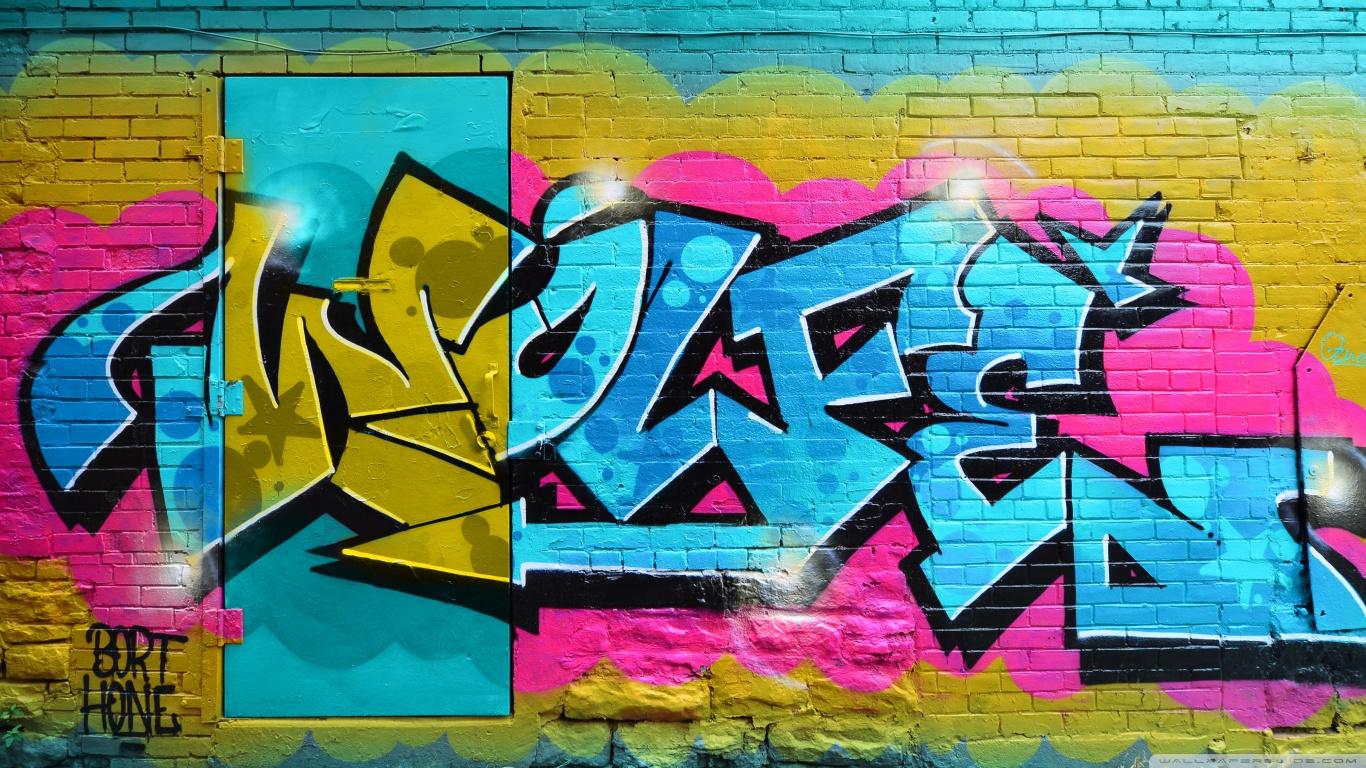 Graffiti Art HD desktop wallpaper : Widescreen : High Definition