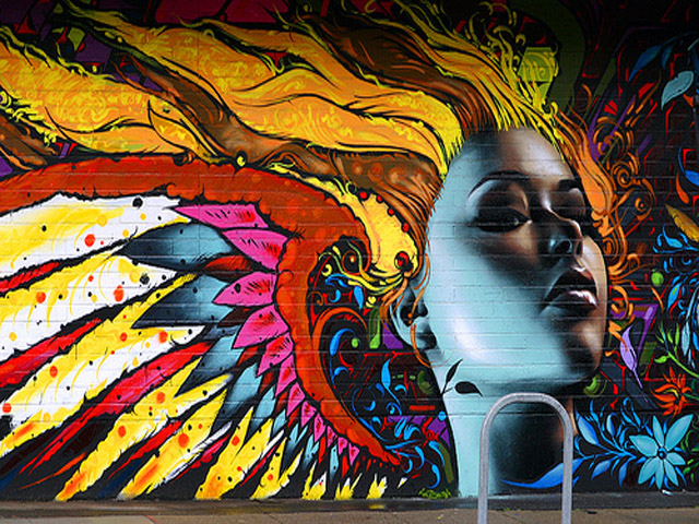 Graffiti Art Wallpaper Page 1