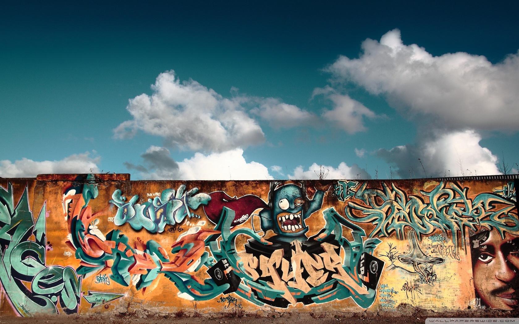 Graffiti Wall Art HD desktop wallpaper : High Definition : Mobile