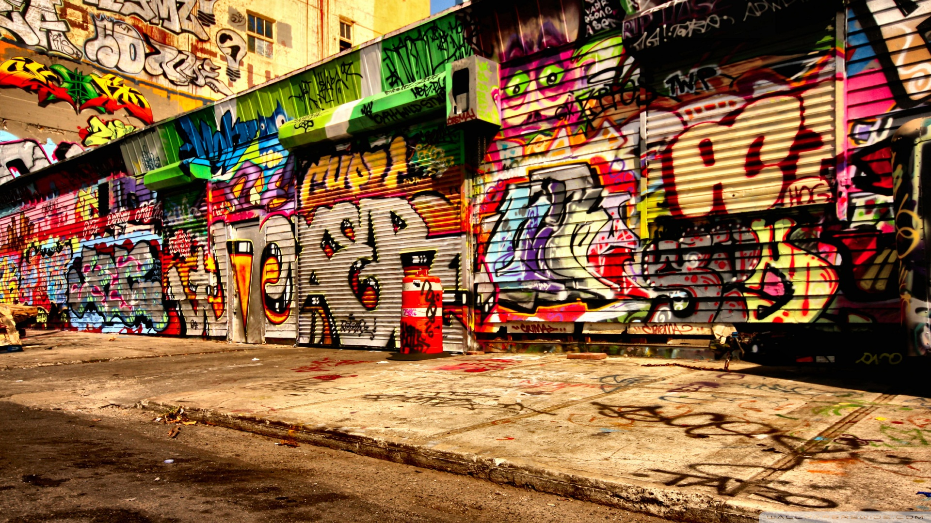 graffiti art wallpaper #15
