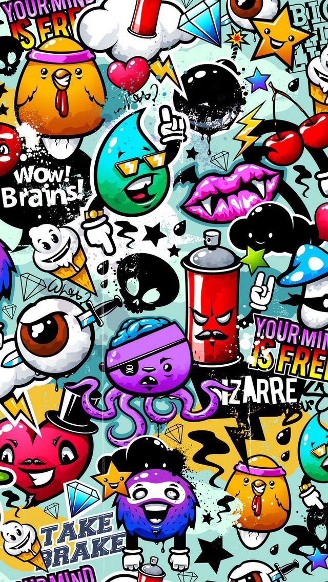 1000+ ideas about Graffiti Wallpaper on Pinterest | Graffiti room