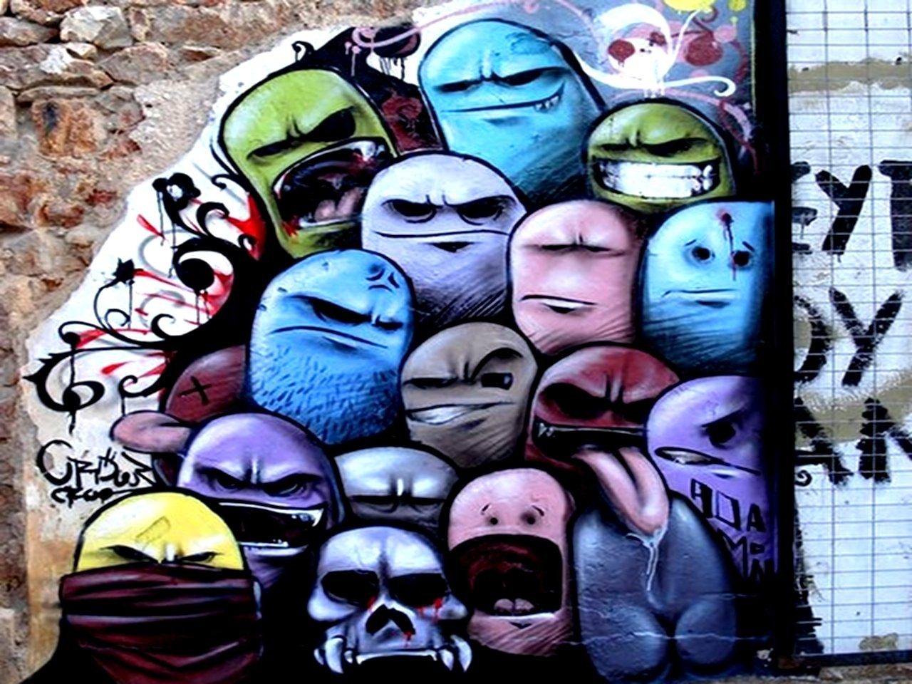 Collection of Graffiti Wallpapers Hd Free Download on HDWallpapers