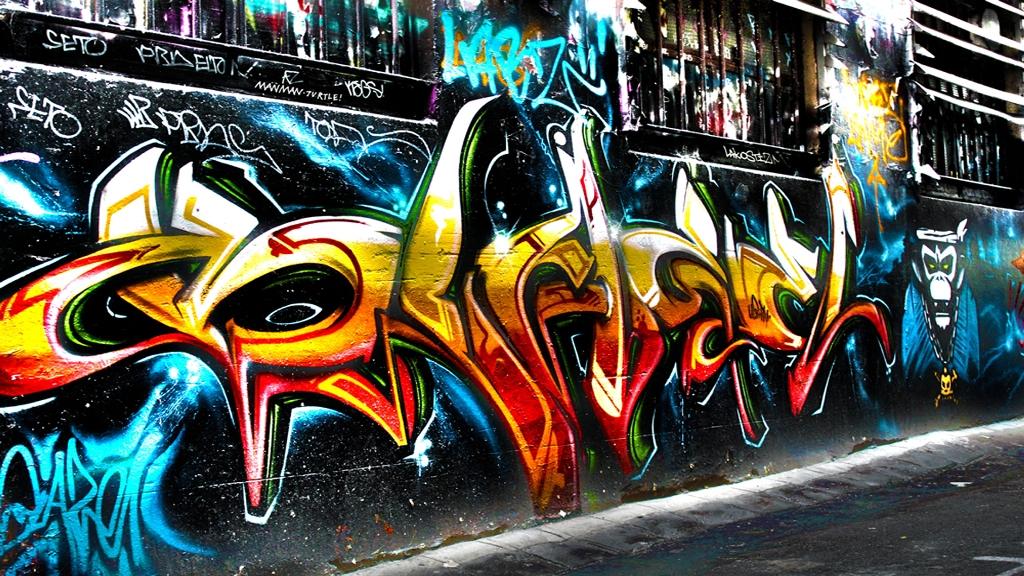 3d Graffiti Wallpaper | Download cool HD wallpapers here