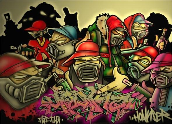 Graffiti Wallpaper Free Download Page 1