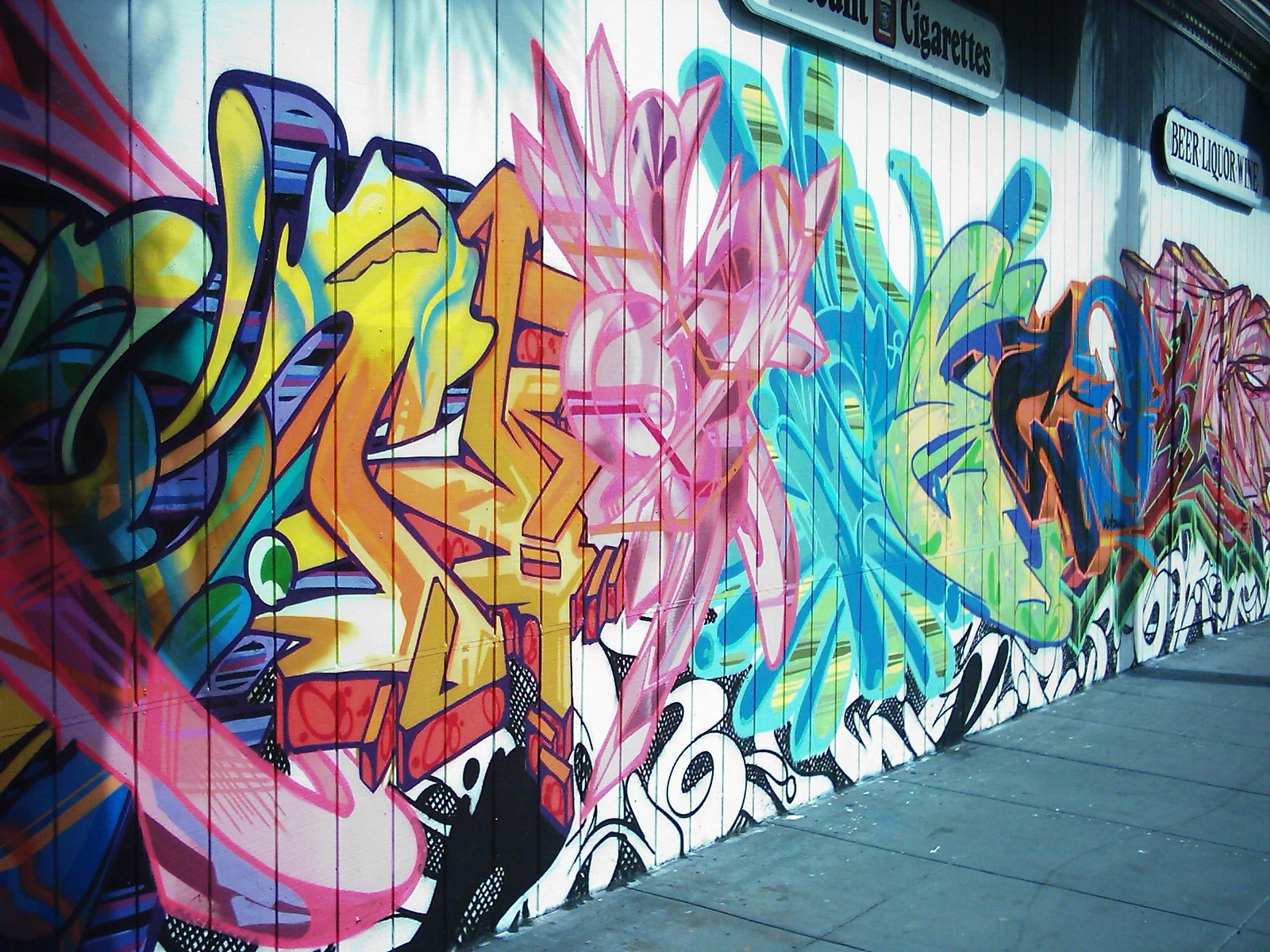 graffiti art wallpaper #11
