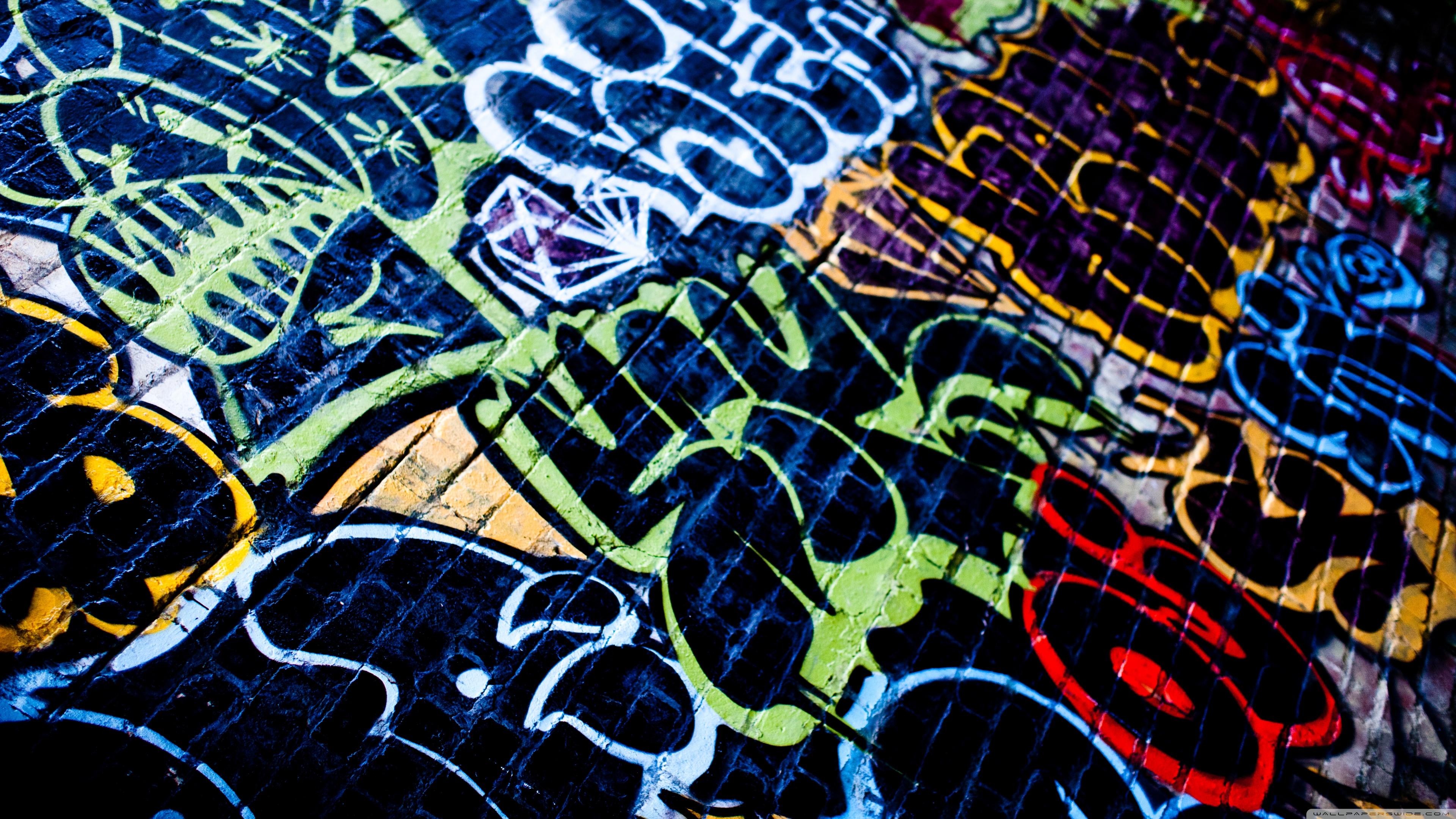 Graffiti HD desktop wallpaper : Widescreen : High Definition