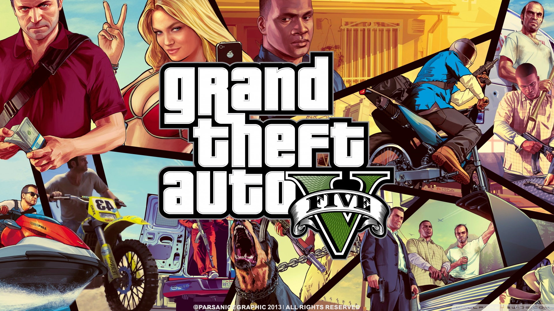 Grand Theft Auto 5 Hd Wallpapers Sf Wallpaper