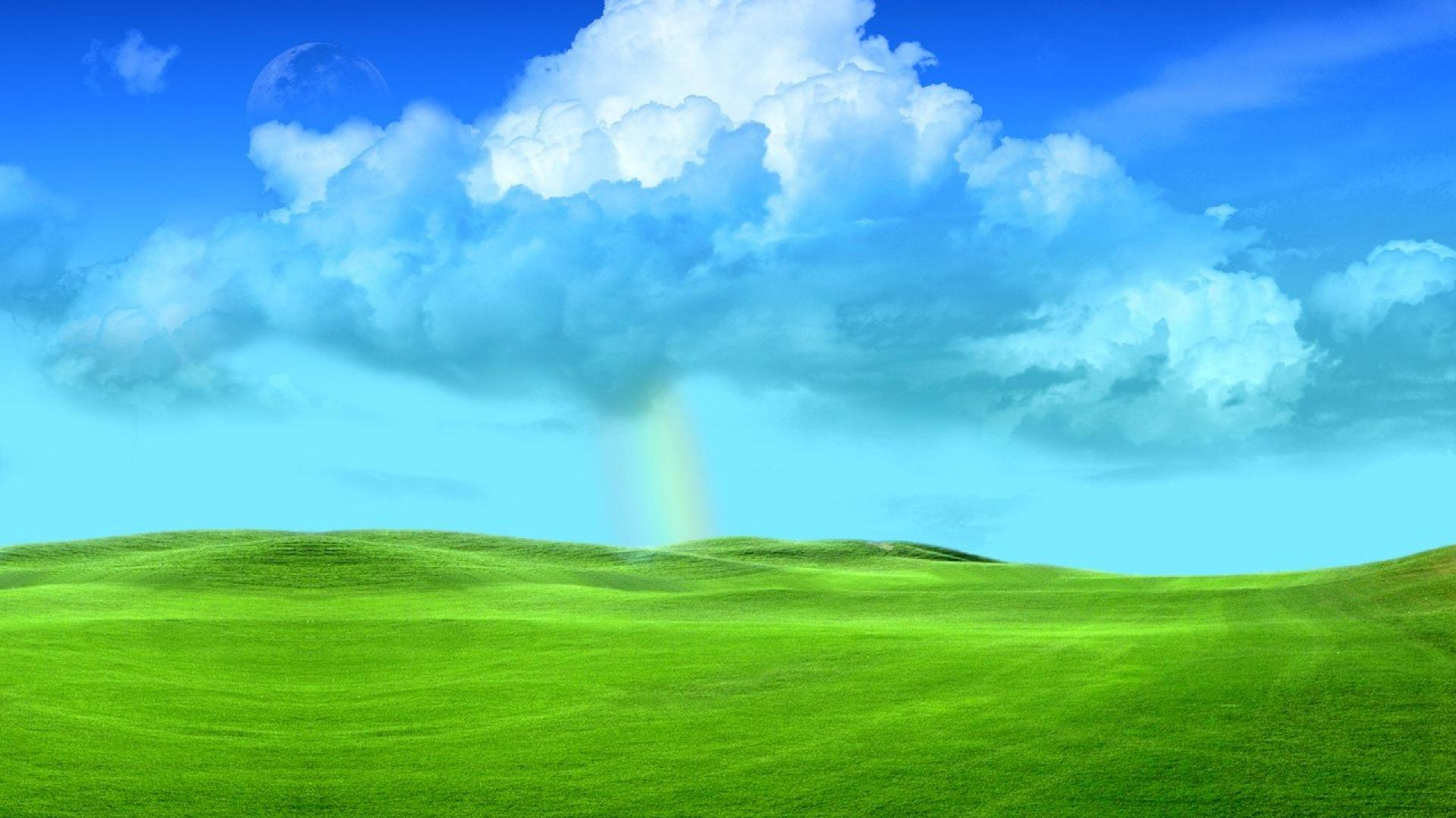 grass and sky wallpaper - sf wallpaper